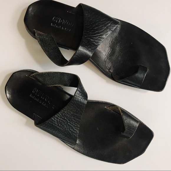 ad96d169b02 cydwoq Shoes - Cydwoq thong sandals beach trip in vintage black